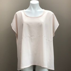 FRENCH CONNECTION Short Sleeve Top Size Me…
